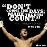 Mohamed Aliの英語名言が以外に凄い!猪木と対戦も。