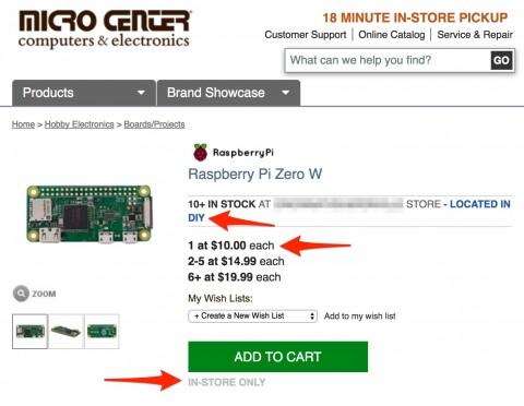 Raspberry_Pi_Zero_W_Micro_Center-480x372 PiZero W完璧購入法など存在しない!スペック、価格日本では?
